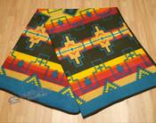 Southwestern Fleece Lodge Blanket - Multi-Color