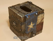 Western Style Tissue Box Cover - Texas
