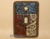 Western Style Light Switch Cover Plate - Texas