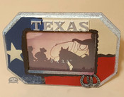 Rustic Western Style Picture Frame - Texas