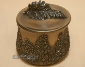 Bronze Southwest Metal Art - Chrysanthemum Box