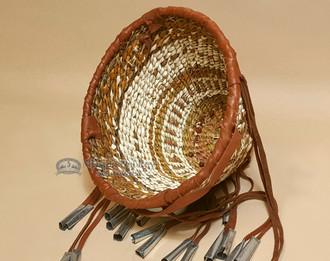 """Handmade Apache Burden Basket 5.75"""""""