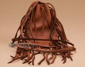 Cherokee Deer Skin Medicine Pouch - Brown