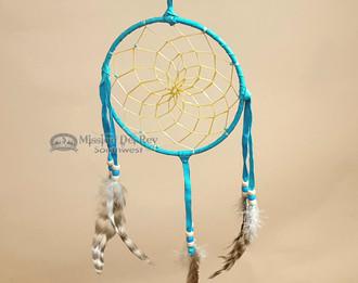"Native American Dream Catcher 6"" -Turquoise"