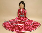 "Authentic Handmade Navajo Doll 21.5"""