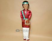 """Hand Made Native American Doll - Navajo 22"""""""