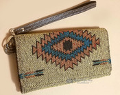 Tapestry Woven Wallet Clutch Bag -Bitter Springs