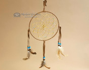 "6"" Handwoven Dreamcatcher - Brown"