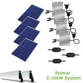 2kW Solar Panel Kit w/Peimar & Enphase