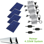 4kW Solar Panel Kit w/Peimar & Enphase