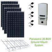 20.8kW Solar Panel Kit w/Panasonic & SolarEdge