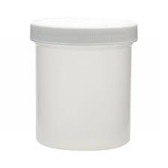 Wheaton W209904 500mL PP Jar, 89-400 PP Unlined Caps, case/24
