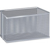 "Micro-Perforated Aluminum Biology Basket & Carrier, 10"" x 10"" x 6"""