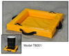 "Quik-Deploy SpillNest Spill Containment - 2'x2'x4"", 10 Gal., Yellow (EG-T8001)"