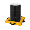 "Eagle T8001 Quik-Deploy SpillNest Spill Containment, 2'x2'x4"", 10 Gal., Yellow"