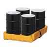 """Folding Quik-Deploy SpillNest Spill Containment - 4'x4'x6"""" , 60 Gal., Yellow"""