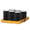 """Folding Quik-Deploy SpillNest Spill Containment - 4'x6'x6"""", 90 Gal., Yellow"""