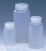 4 oz lab Bottles Wide Mouth Precisionware Polypropylene, case/12