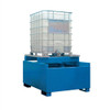 Denios 1-Tote IBC Painted Steel Dispensing Platform (Painted)
