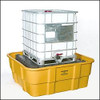 IBC Platform, 400 gallon IBC Containment Unit-All Poly Tub and Platform