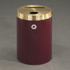 Dual Purpose Recycle Bins, RecyclePro (Paper, Bottles, Cans) 33 gal