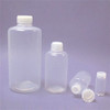 100mL PFA Bottles, Graduated, Narrow Mouth, PTFE insert, Each