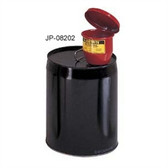 "Justrite Metal Funnel, for 5 gal pails, manual lid & 1"" flame arrester"