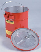 Justrite 27705 Portable Steel Mixing Tank by