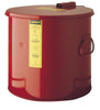 3.5 gallon Steel Wash Tank with Basket, Round Style