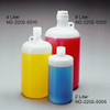 LDPE bottles, 8 Liter Narrow-Mouth Nalgene 53B with PP closure, case/6