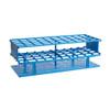 Nalgene 5970-0325 Test Tube Rack, Unwire, Blue, 25mm tubes, case/8