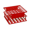 Nalgene Test Tube Half-Rack, Unwire, Red, 13mm, case/8
