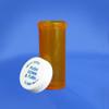 Amber Pharmacy Vials, Child Resistant Caps, 30 dram (111mL), case/240
