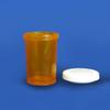 Amber Pharmacy Vials, Snap Caps, 20 dram (74mL), case of 300