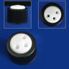 3-Port Cap for Glass Bottles, GL38, Complete Kit