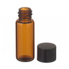 1.8mL Economy Vial, Glass Amber, 8-425 Cap, PTFE Liner, case/200