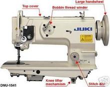 Juki DNU 1541S Industrial Walking Foot Machine Leather