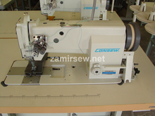Consew P2339RB Double Needle ,Drop Feed , Needle Feed , Walking Foot , Lockstitch Machine , Reverse , Big Bobbin