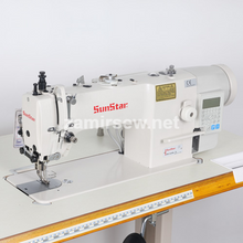 Sunstar KM-3420BL-7 1-Needle,Up & Low Feed,Direct Drive,Auto Thread Trimming