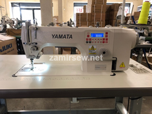 Yamata FY9300 High Speed Straight Stitch Sewing Machine, Direct Drive, Undertrimmer,