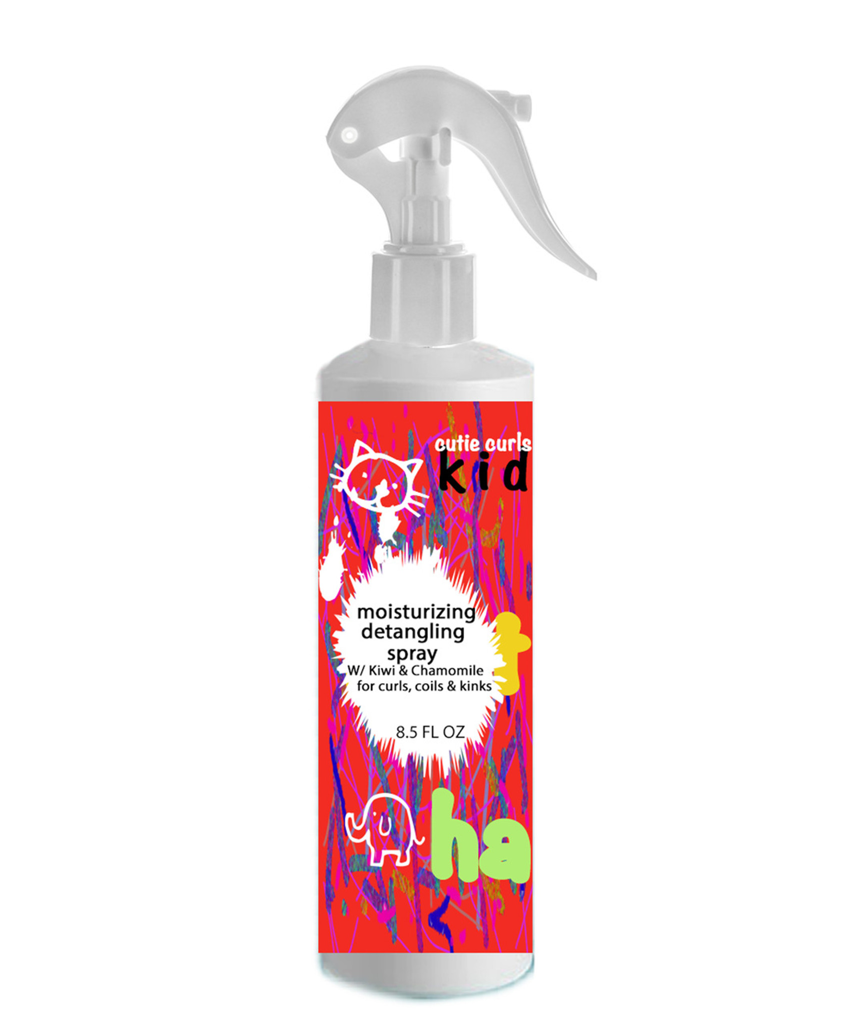 CUTIE CURLS MOISTURIZING DETANGLING SPRAY