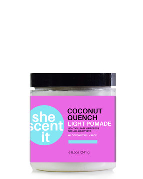 COCONUT QUENCH LIGHT POMADE