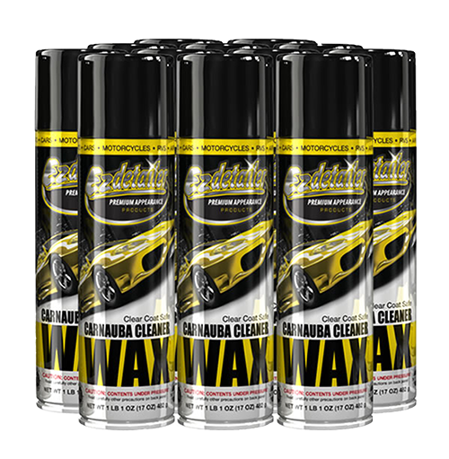 Carnauba Wax Cleaner 12 Cans