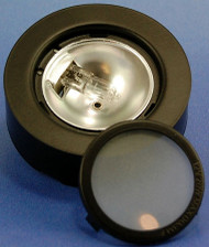 Halogen Metal Puck Light