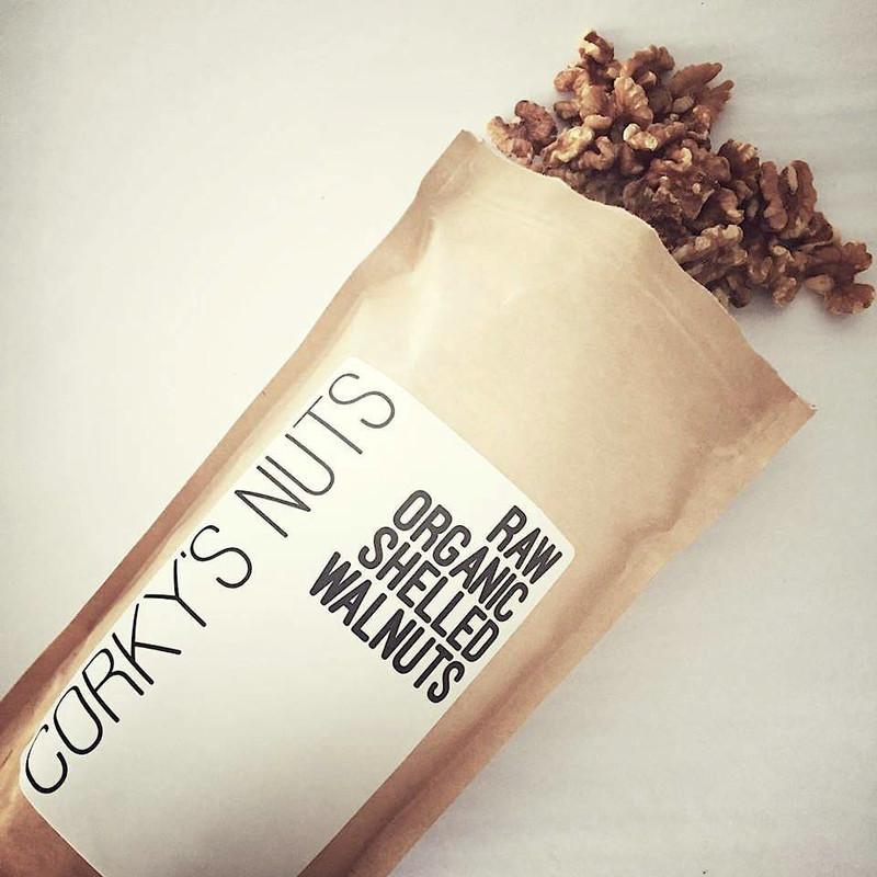 """Sun-Roasted"" Raw Organic Walnuts"