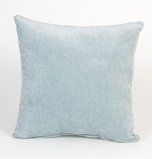 Central Park Solid Blue Pillow