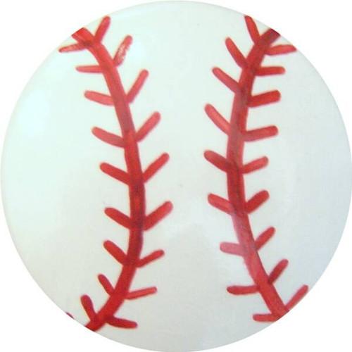Baseball Drawer Pull