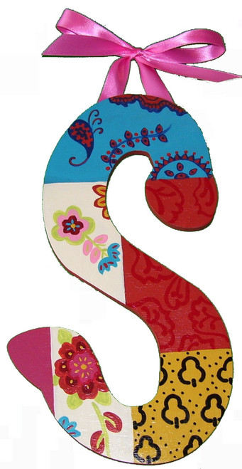 Bohemian Patchwork Spicy Letters