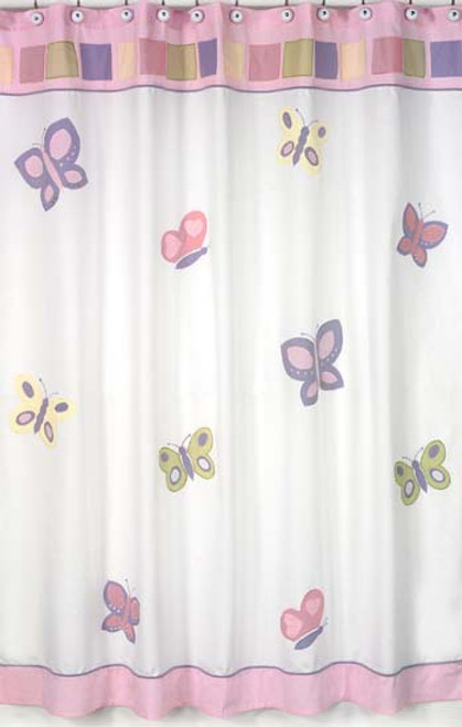 Butterfly-Shower-Curtain