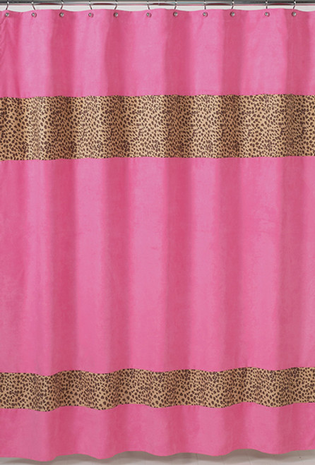 Cheetah Pink Shower Curtain